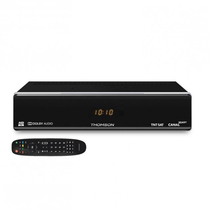 THOMSON Récepteur Boitier TV satellite HD vendu sans carte TNTSAT Astra 19.2E