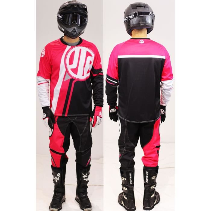 tenue ensemble maillot pantalon gants moto cross achat vente pas cher. Black Bedroom Furniture Sets. Home Design Ideas