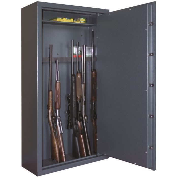armoire fusils 12 armes avec lunette achat vente. Black Bedroom Furniture Sets. Home Design Ideas