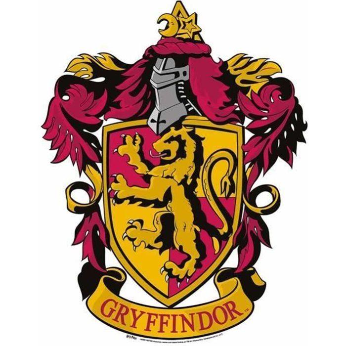 Blason En Carton Maison Gryffondor Harry Potter 61x48 Cm Achat