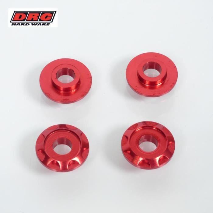 Rondelle Aluminium M6 Rouge