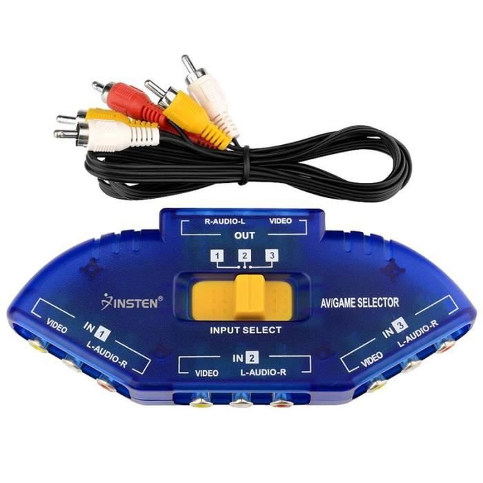 Insten hub splitter multiprise switcher r partiteur - Cable ethernet multiprise ...