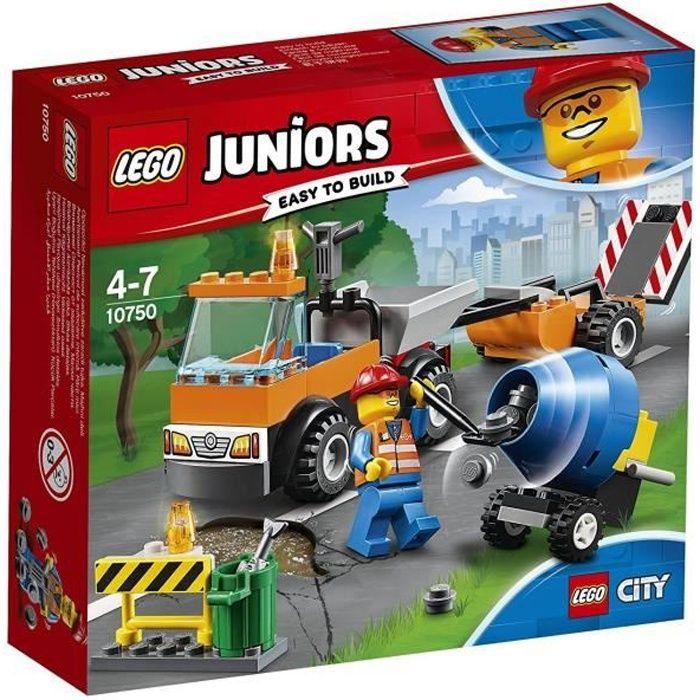 ASSEMBLAGE CONSTRUCTION LEGO® Juniors City 10750 Le camion de réparation d