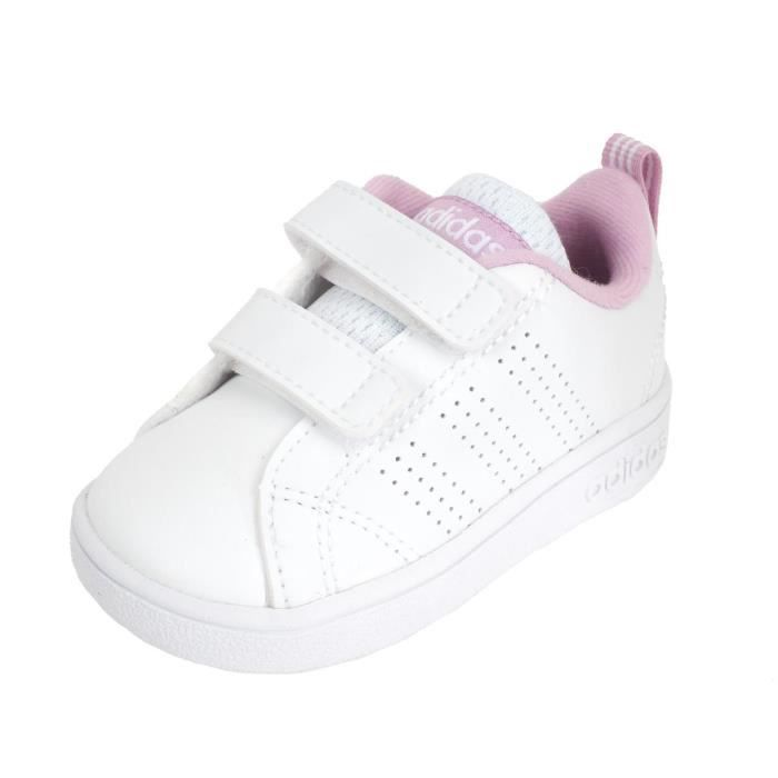 Chaussures velcro Advantage babyblc/rse - Adidas neo