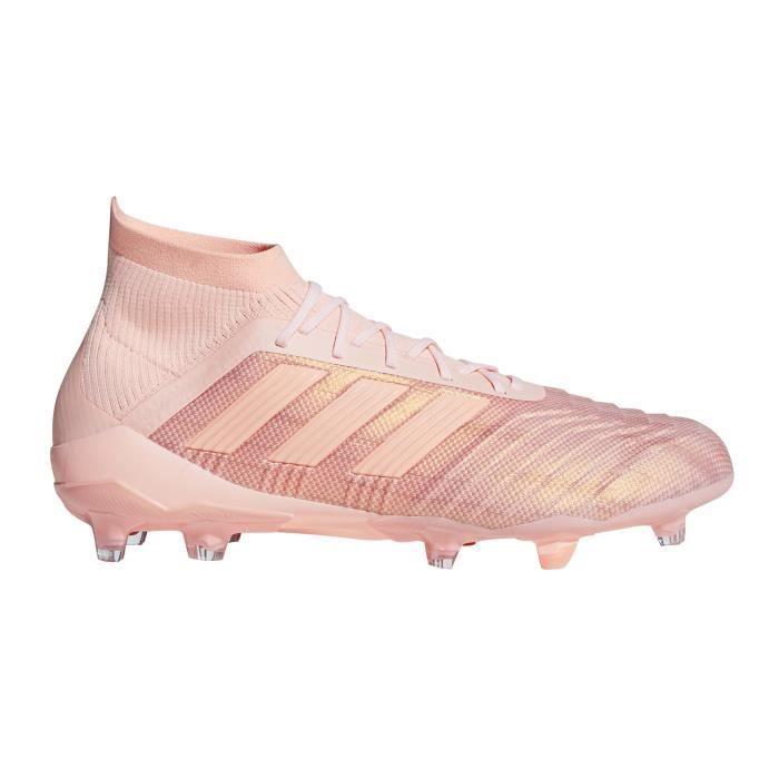 Chaussures football adidas Predator 18.1 FG Rose - Cdiscount Sport