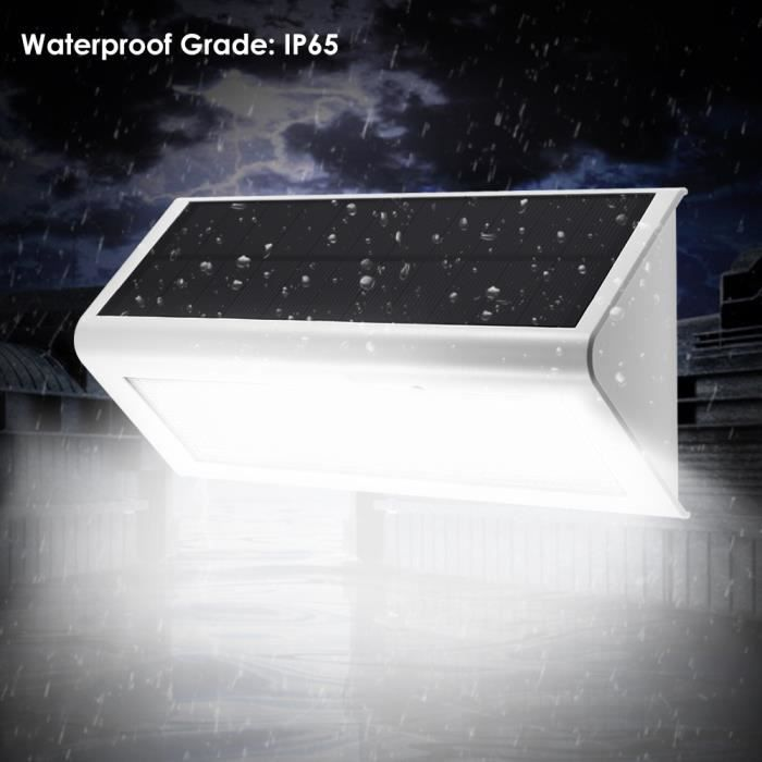 lampe exterieur detecteur de mouvement sans fil led eclairage exterieur impermable mpow. Black Bedroom Furniture Sets. Home Design Ideas