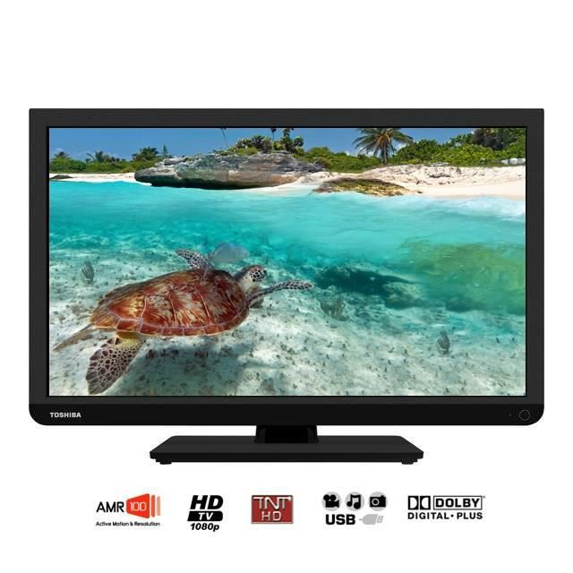 toshiba 22l1333g tv led edge 55 cm noir achat vente t l viseur led toshiba 22l1333g petit. Black Bedroom Furniture Sets. Home Design Ideas