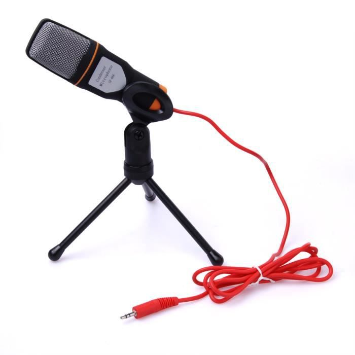 xcsource pro clip condenseur son mic microphone. Black Bedroom Furniture Sets. Home Design Ideas