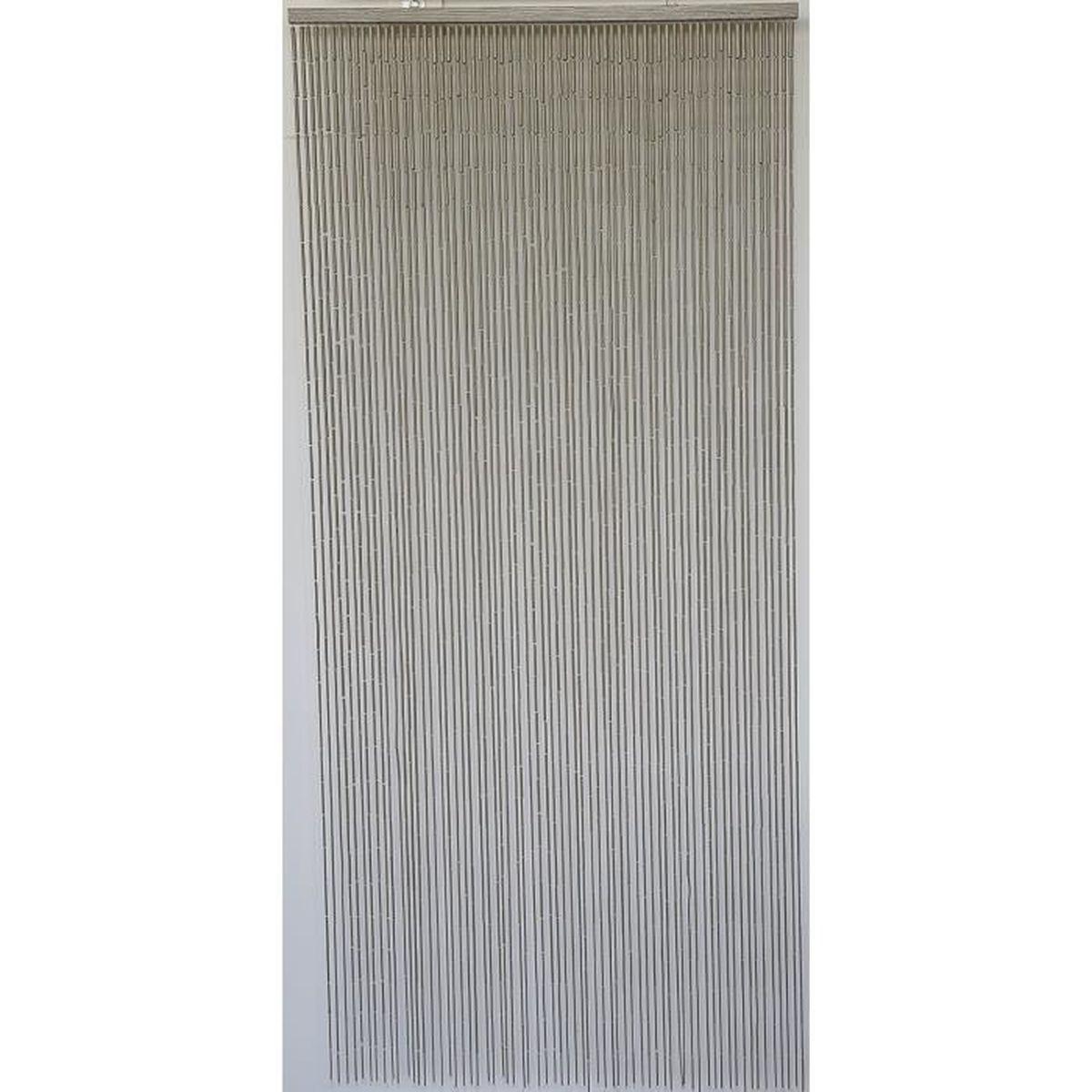 Rideau Porte D Entrée rideau de porte perles bambou, intérieur et extérieur, porte