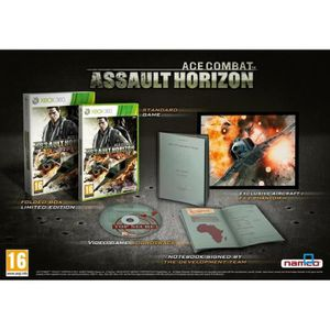 JEUX XBOX 360 ACE COMBAT ASSAULT HORIZON EDITION LIMITEE / X360