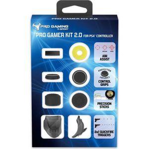 PACK ACCESSOIRE Kit Accessoires Pro Gamer 2.0 pour Manette PS4 - S