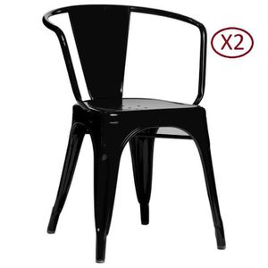 chaise tolix achat vente chaise tolix pas cher soldes d s le 10 janvier cdiscount. Black Bedroom Furniture Sets. Home Design Ideas