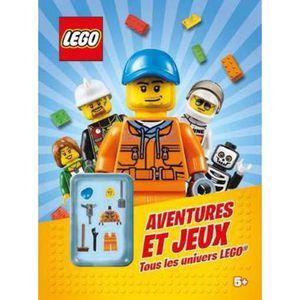 Livre Lego Aventures Et Jeux Tous Les Univers Lego
