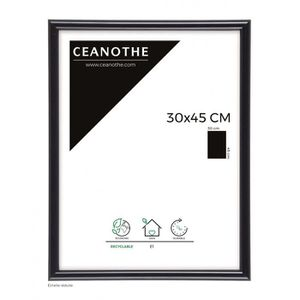 CADRE PHOTO Brio cadre photo noir Gallery 30x45 cm