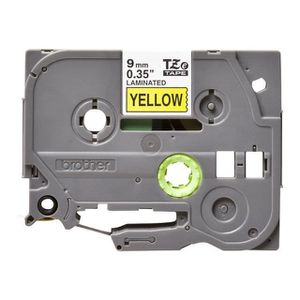 CD - DVD VIERGE cassette compatible TZe-621 yellow pour Brother...