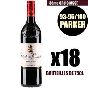 VIN ROUGE X18 Château Giscours 2016 Rouge 75 cl AOC Margaux
