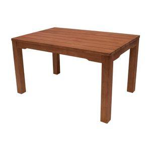 Table rectangulaire salon de jardin bois d\'eucalyptus huilé ...