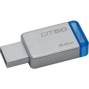 CLÉ USB KINGSTON - DataTraveler 50 - Clé USB - 64Go -  USB