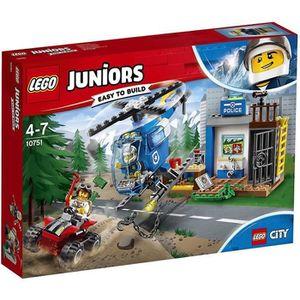 ASSEMBLAGE CONSTRUCTION LEGO® Juniors City 10751 La course-poursuite à la