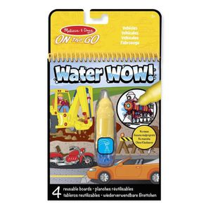 MAQUILLAGE Melissa & Doug - Water Wow! Véhicules - MELISSA &