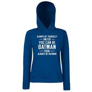 SWEATSHIRT Sweatshirt a capuche Femme FUN0565 alwaysbebatmann