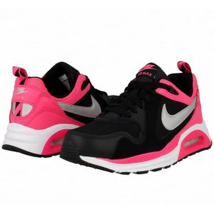 BASKET Baskets Nike Air Max Trax Noir et Rose. 644470-002