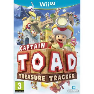 JEUX WII U Captain Toad Treasure Tracker Jeu Wii U