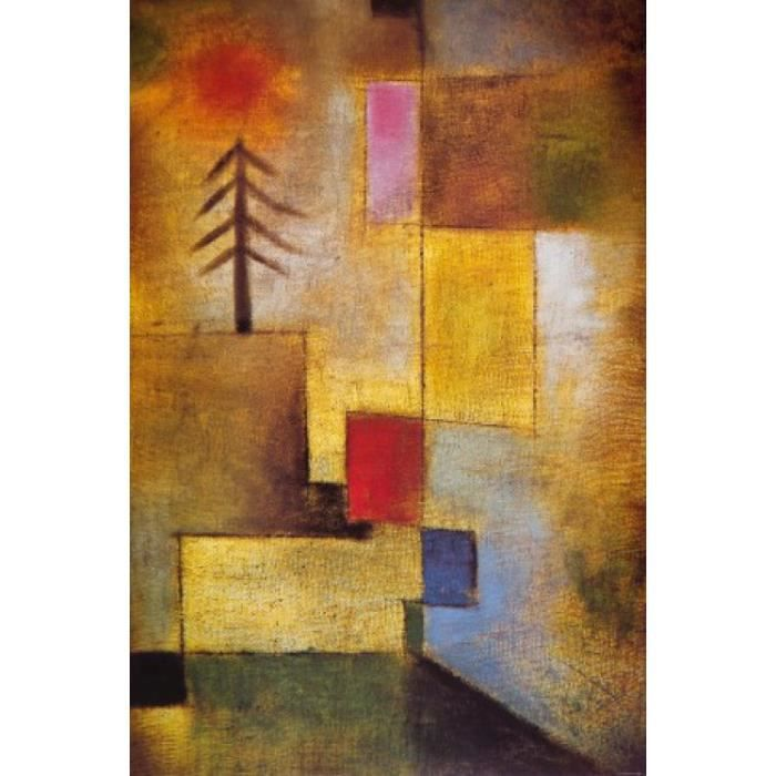 Paul klee papier peint photo poster autocollant achat for Poster decoration murale