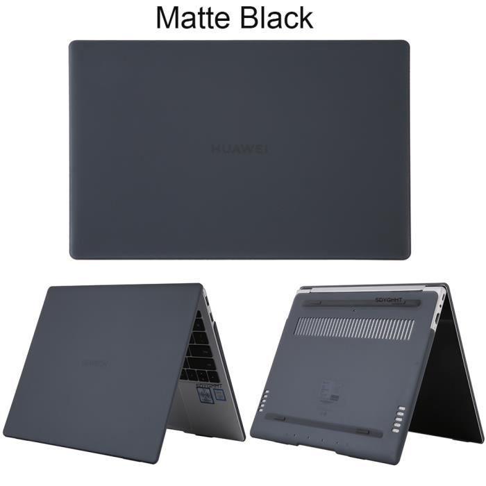 Sacoches & Housses Ordinateur,Coque pour Huawei MateBook X Pro D14 D15 13 14 pouces 2020 - Type Matte Black-For MateBook D 15