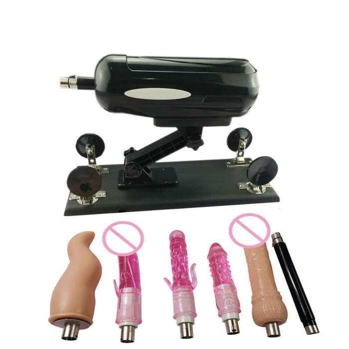 Fredorch automatique sexe mitrailleuse pour hommes et femmes avec plusieurs accessoires de gode-Type Package a