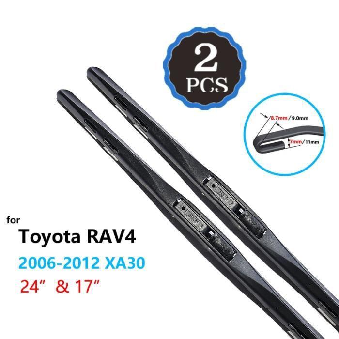 Balais d'essuie-glaces,Pour Toyota RAV4 1994 ~ 2020 XA10 XA20 XA30 XA40 XA50 RAV 4 2000 2006 2012 2013 2018 - Type 2006-2012 XA30