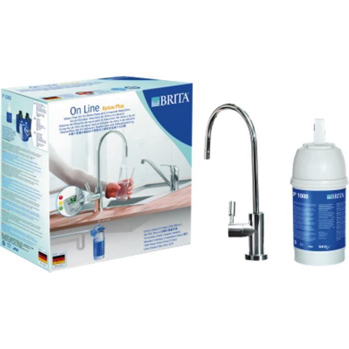 Filtres d'eau Brita On filtre en direct Active Plus l'eau