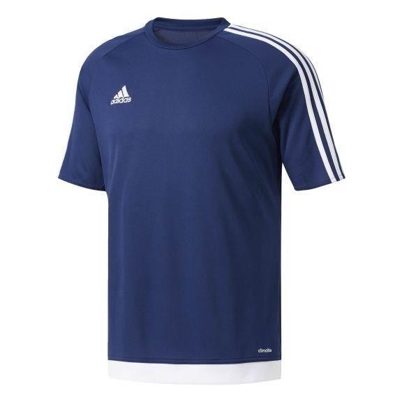 ADIDAS Maillot de Football Estro 15 Bleu / Blanc