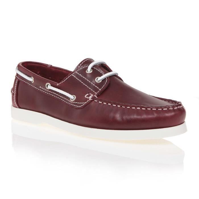 J.BRADFORD JB-CANOA Bordeaux Chaussure Homme