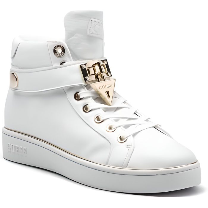 Guess Baskets Femme BOXING Blanc - Taille - 35 EU