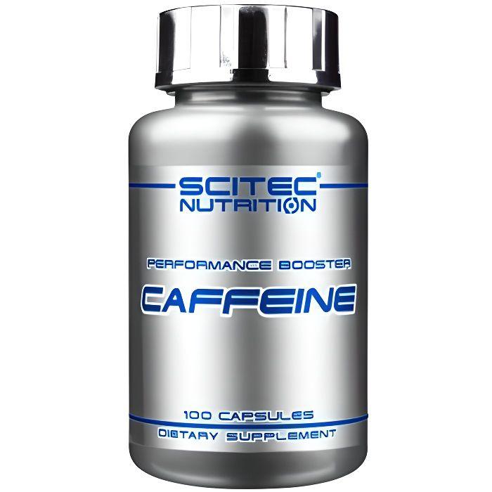 Caffeine - 100 caps de SCITEC Nutrition