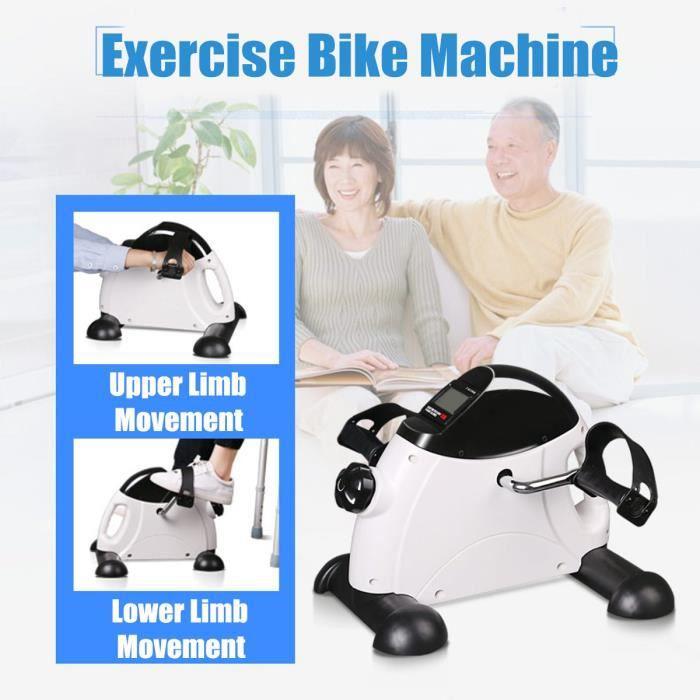 TEMPSA Vélo d'Appartement Pédales Trainer Appareil d'exercice Trainer Pédalier pour Bras et Jambe
