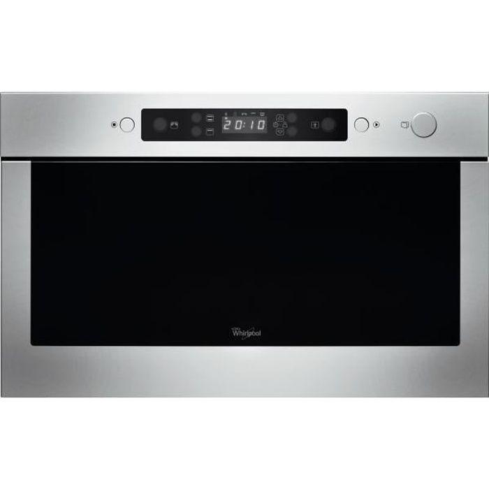 Micro-ondes Encastrable gril simultané WHIRLPOOL AMW439IX