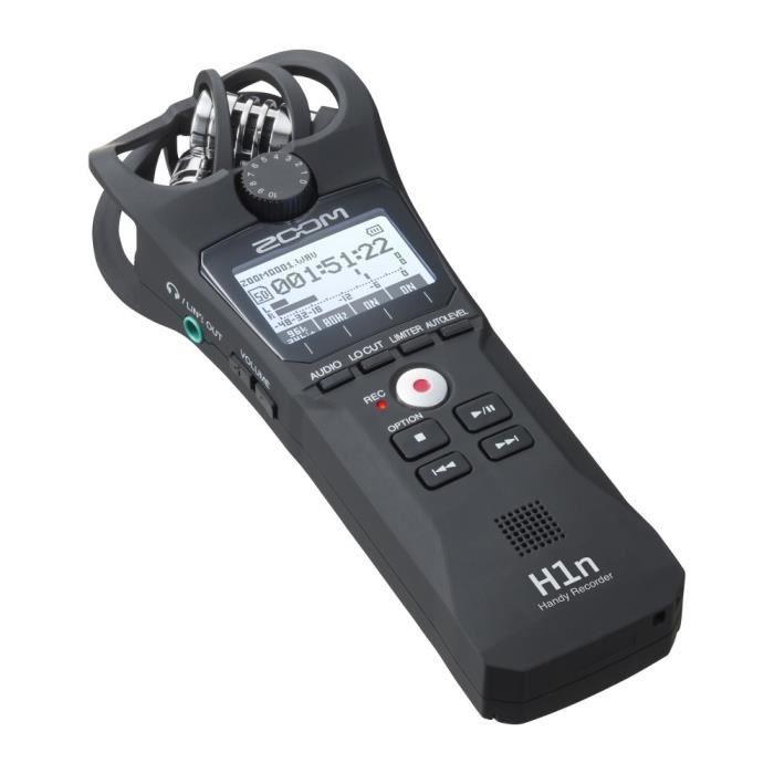 Enregistreur audio Zoom H1N