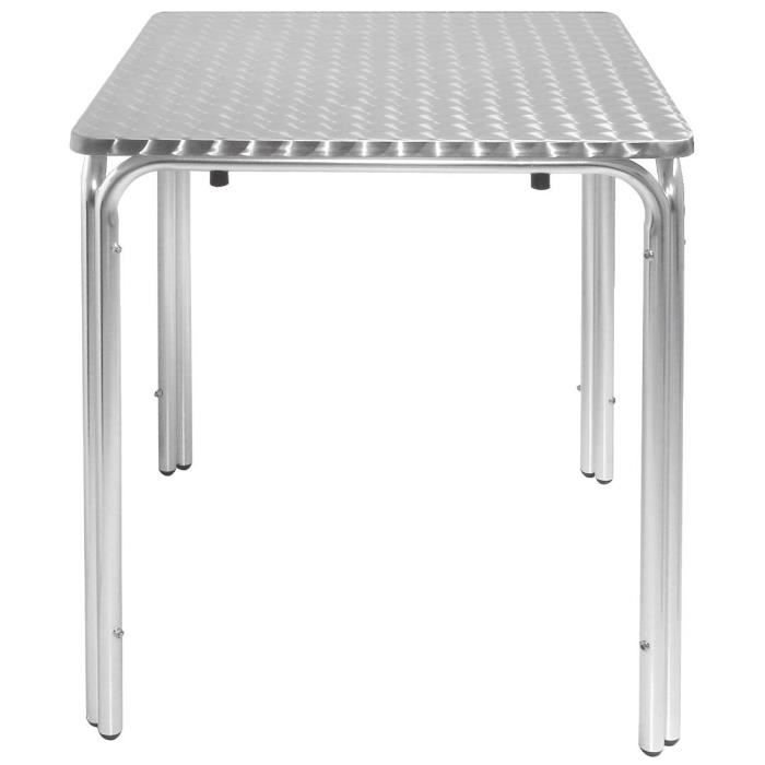 Bolero Leg Table Carree 600mm Achat Vente Table De Cuisine
