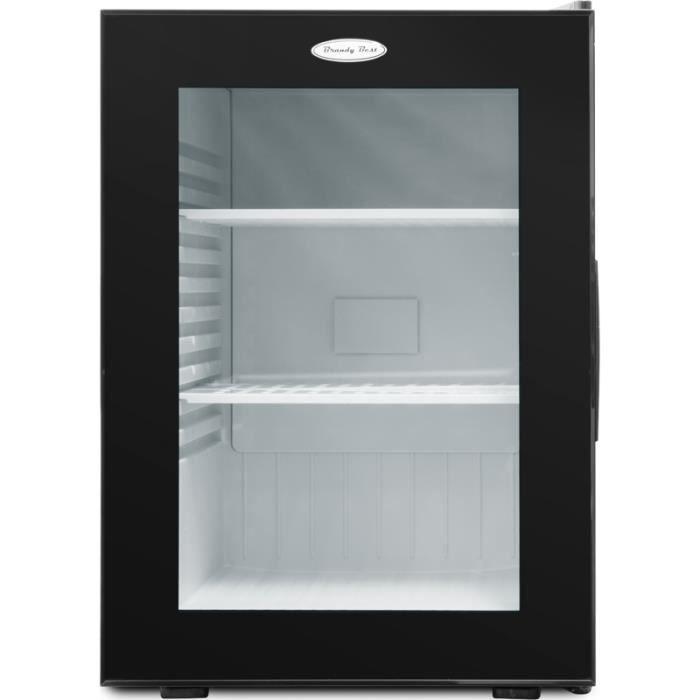 RÉFRIGÉRATEUR CLASSIQUE Mini réfrigérateur Brandy Best WINDOW400 • Réfrigé