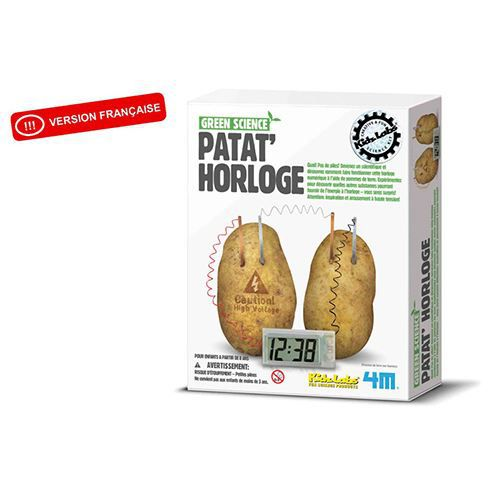 Science Museum Horloge pommes de terre