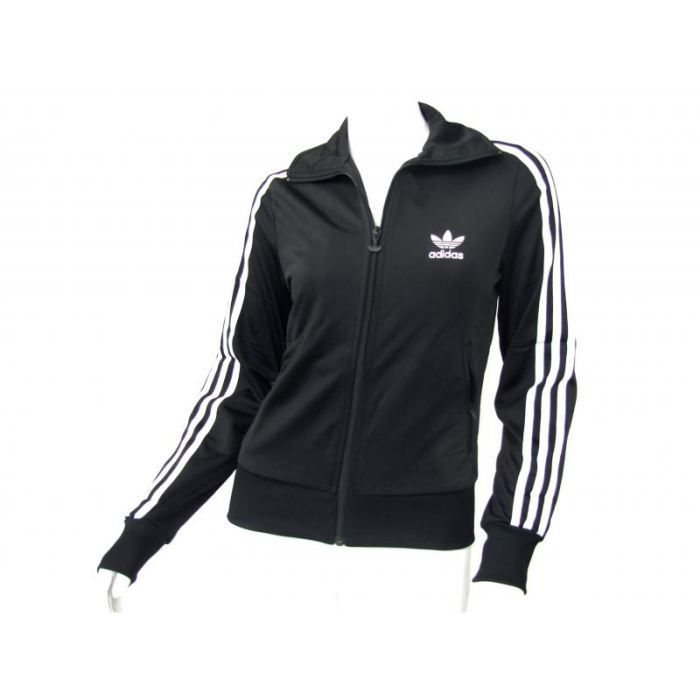 veste adidas originals firebird noir achat vente veste de sport cdiscount. Black Bedroom Furniture Sets. Home Design Ideas