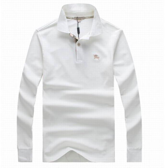 Polo Burberry Blanc à manches longues BLANC