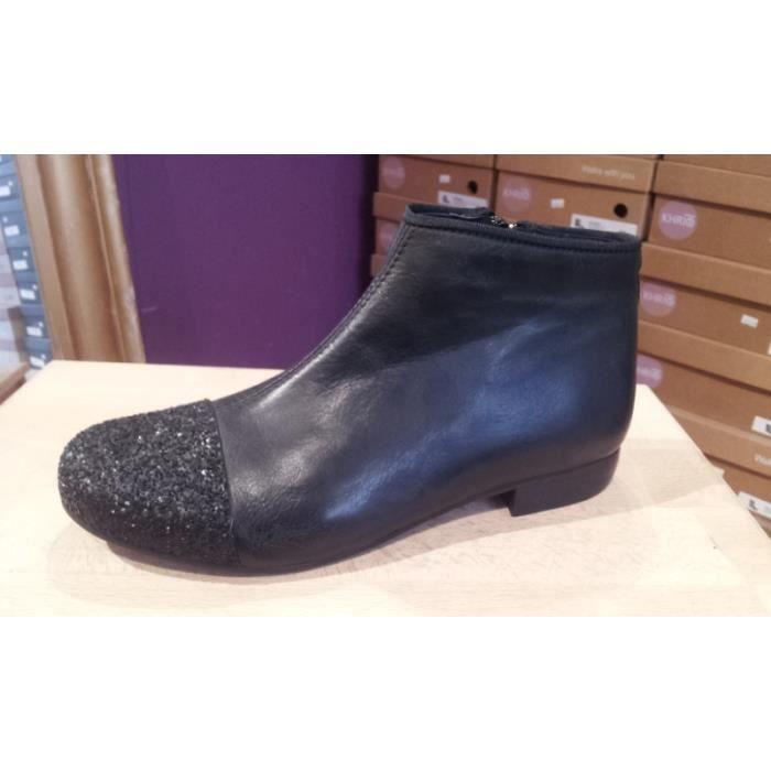 Boots M Par M Ginette Noir Noir Achat Vente Bottine Soldes Sur Cdiscount Dès Le 20 Janvier Cdiscount