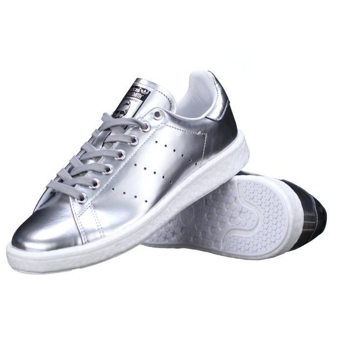 basket adidas gris metal