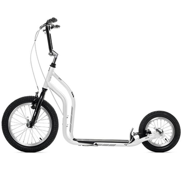 Yedoo Scooter Number Three Trottinette 16//12 in V-Brake Vert