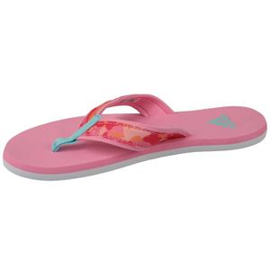 buy online a92cd 15f99 ... BASKET Adidas Beach Thong K S80625 Enfant mixte tong Rose ...