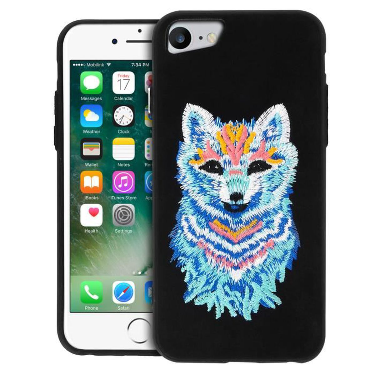 coque iphone 7 broderie