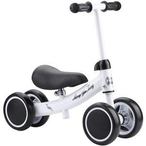 DRAISIENNE Vélo d'enfant,Porteur Mini,Petite draisienne(Blanc